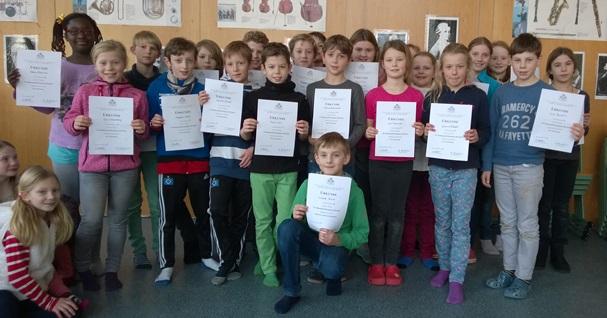 Teilnehmer des vierten Jahrgangs